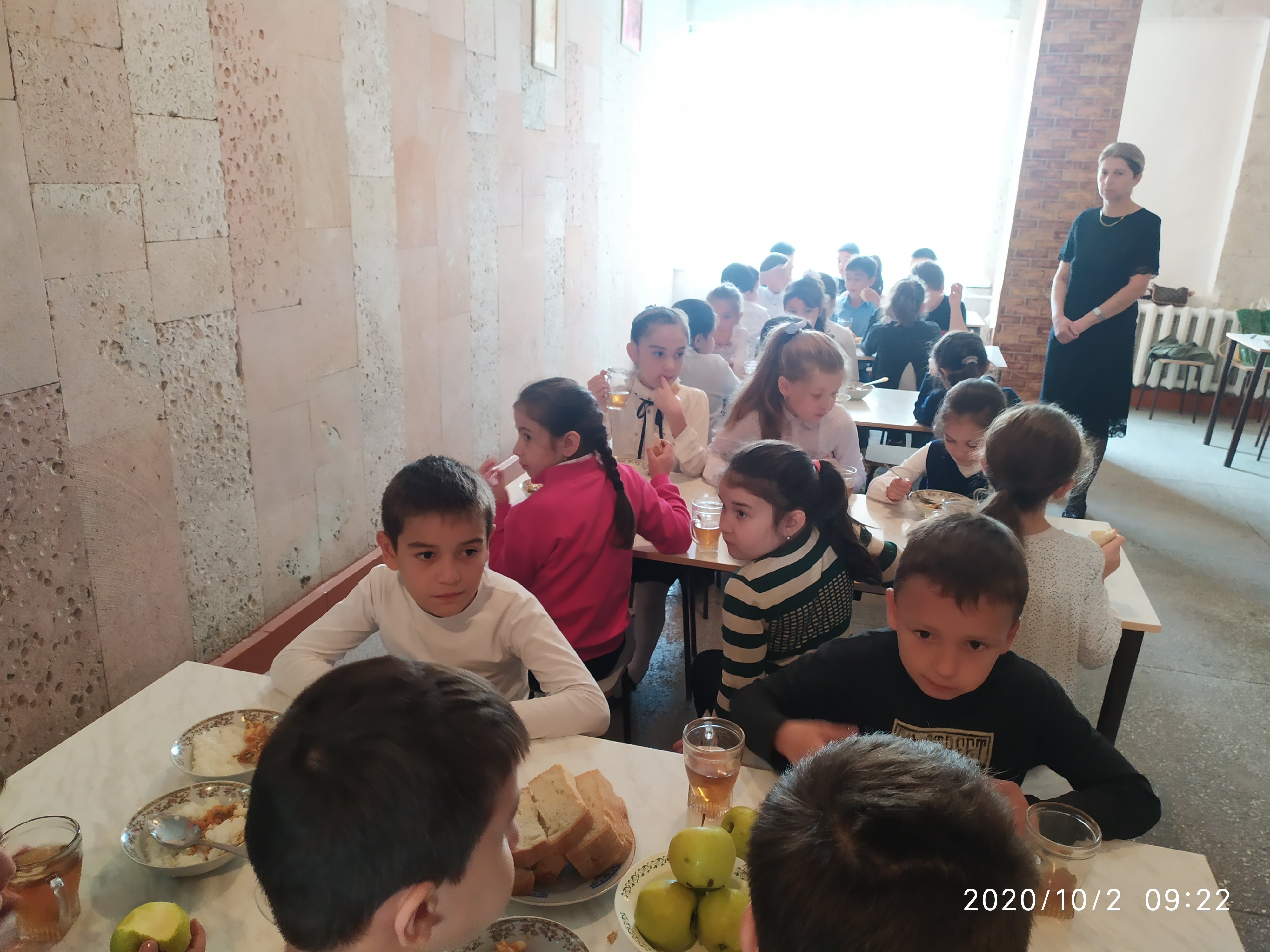 Питание в школьной столовой